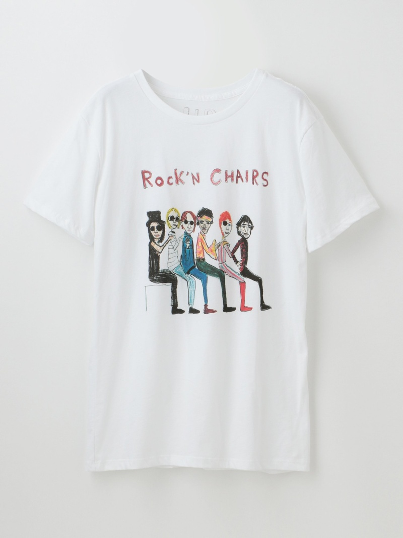 GUILD PRIME 【U.P.(Unfortunate Portrait)】MEN Tシャツ Rock'N CHAIRS ギルドプライム カットソー【送料無料】