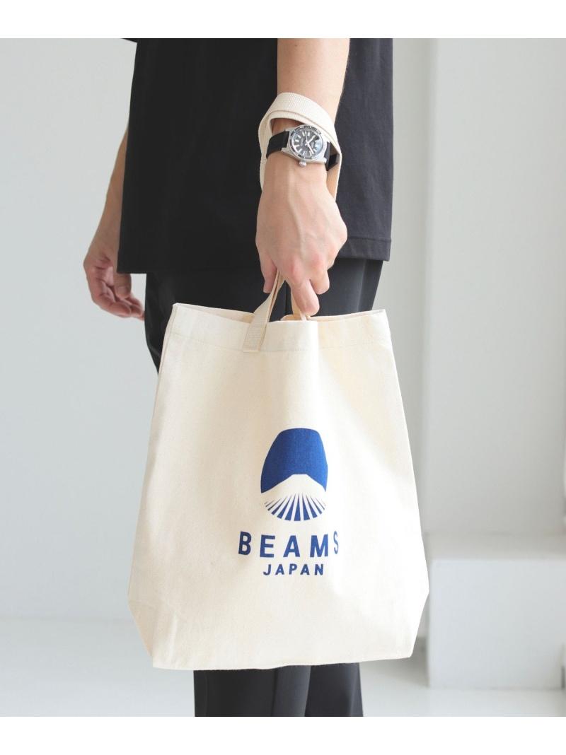 beams_all_20210615 2019_0412bms BEAMS JAPAN ユニセックス ☆正規品新品未使用品 バッグ ビームス ジャパン 安い トートバッグ ブラック works 別注 ロゴ レッド evergreen