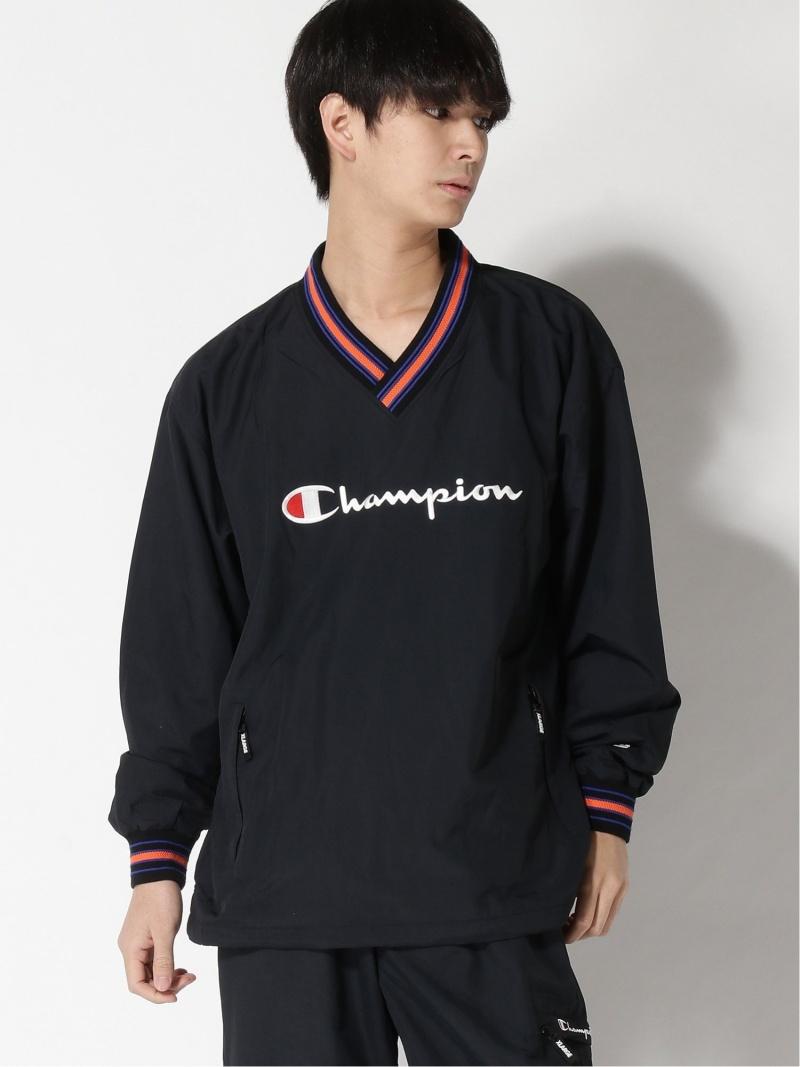 XLARGE XLARGE Champion ACTION JACKET エクストララージ コート/ジャケット ナイロンジャケット ブラック レッド ネイビー【送料無料】