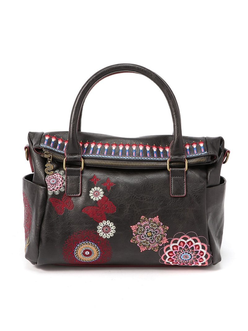 Desigual 刺繍入りバッグ CHANDY LOVERTY デシグアル バッグ【送料無料】