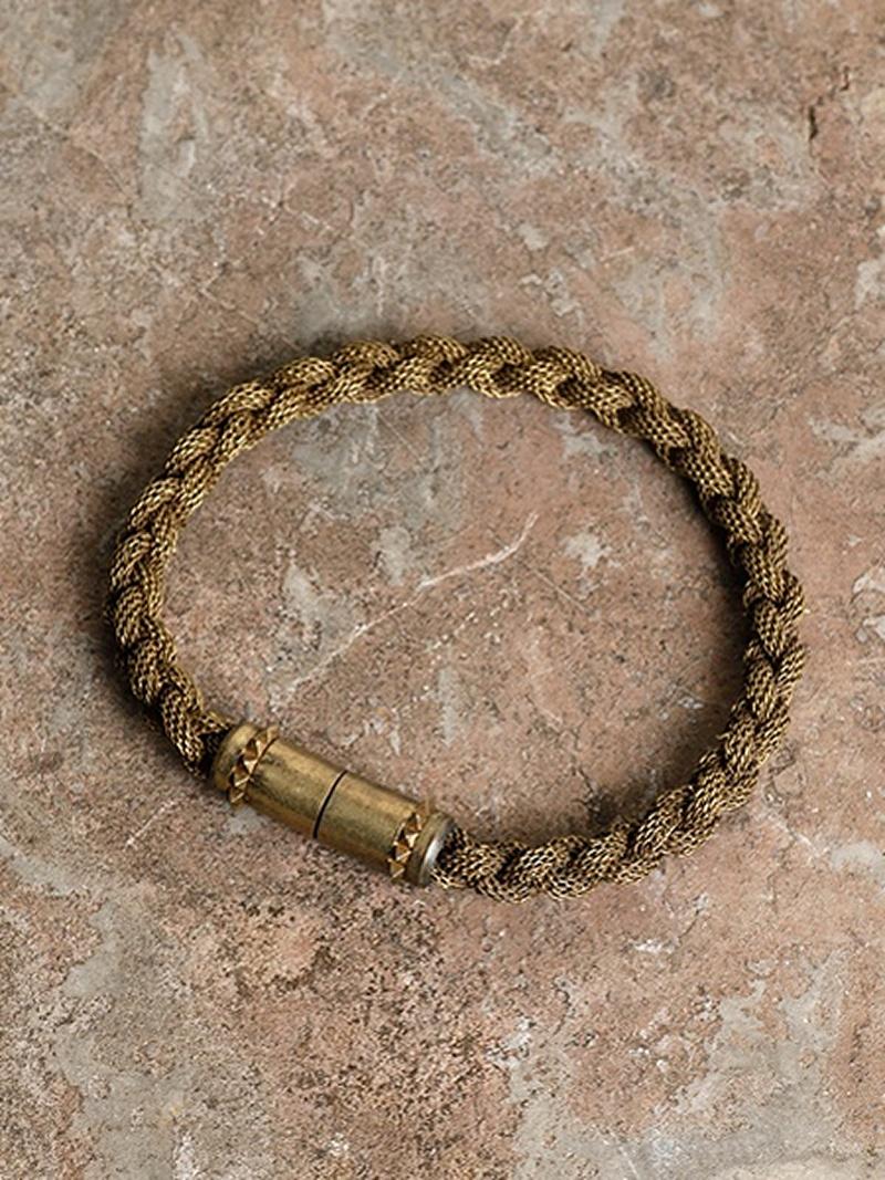 GILD Braded mesh chein bracelet マージン アクセサリー【先行予約】*【送料無料】