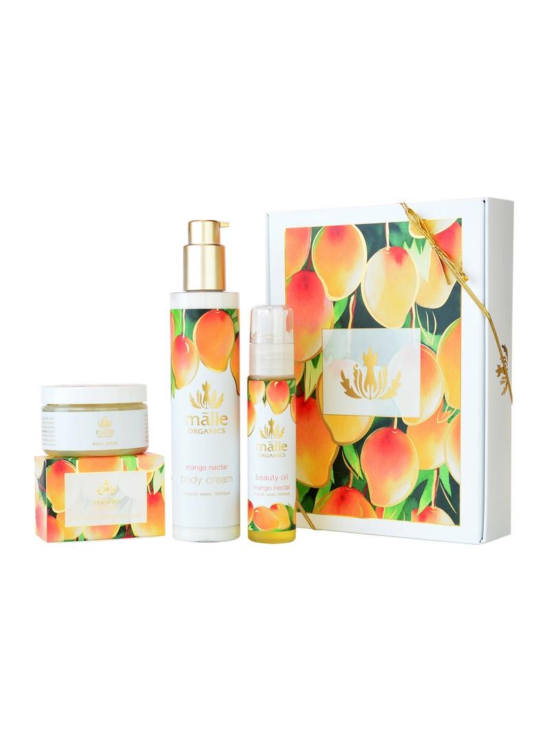 ビューティー/ マリエオーガ二クス コスメ (公式) Malie 【送料無料】 Luxe Spa Box Mango Nectar