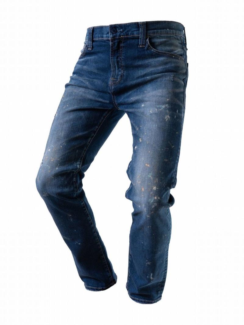 B'2nd SURT(サート)テーパードスキニージョガー/MMM106J-414B ビーセカンド パンツ/ジーンズ フルレングス ブルー【送料無料】