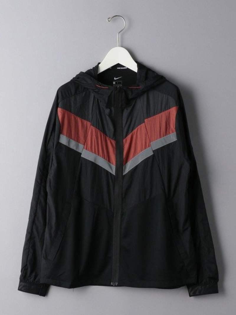 EN ROUTE <NIKE(ナイキ)> WRジャケット55 ユナイテッドアローズ カットソー Tシャツ ブラック【送料無料】