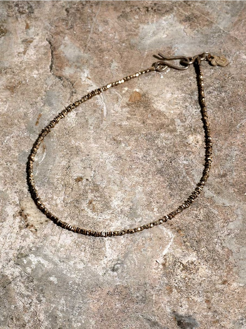 GILD Micro silver beads anklet マージン アクセサリー【先行予約】*【送料無料】