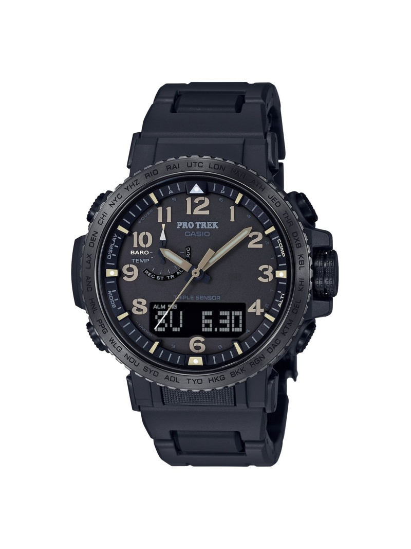 PRO TREK PRO TREK/(M)PRW-50FC-1JF カシオ ファッショングッズ 腕時計 ブラック【送料無料】
