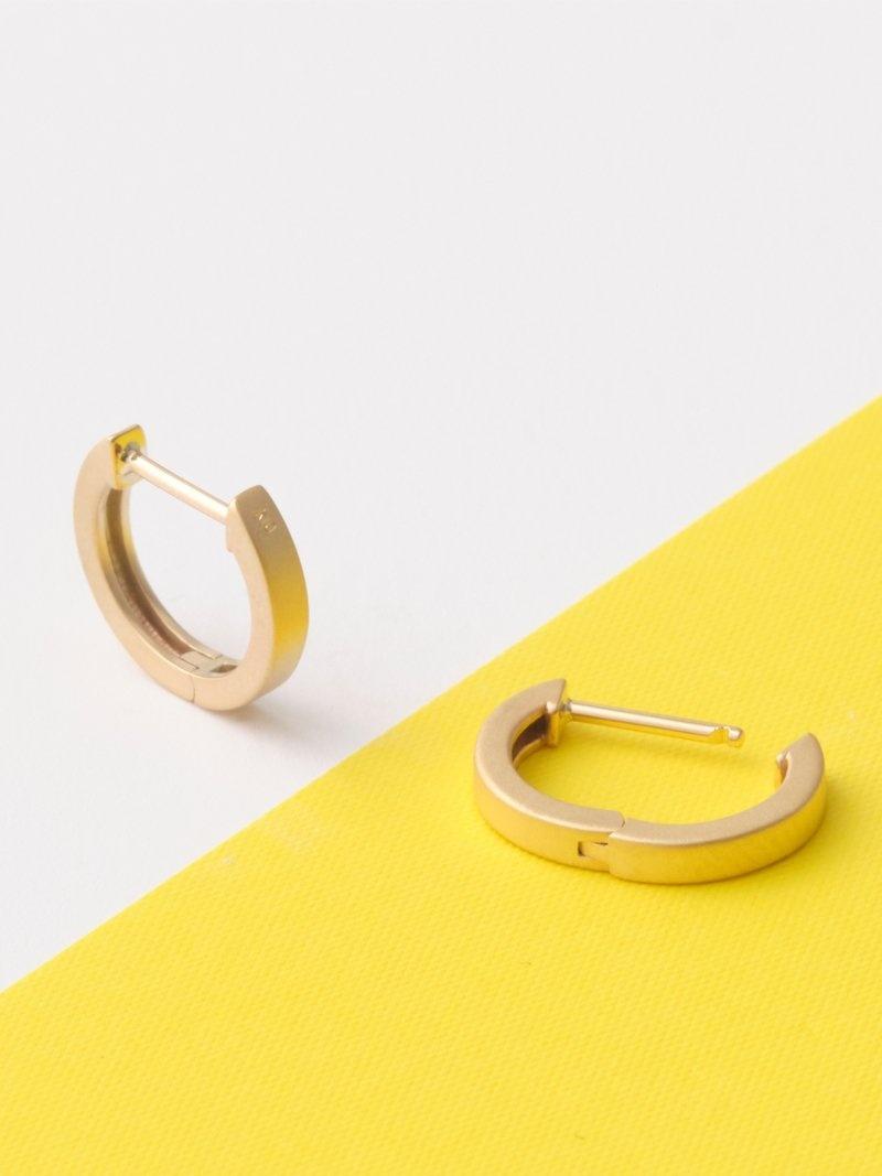 JUPITER JUPITER/(U)matte gold straight hoop ピアス ジュエルアディクト アクセサリー ピアス ゴールド【先行予約】*【送料無料】