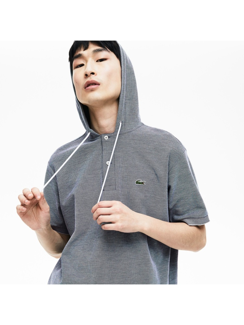 【SALE/30%OFF】LACOSTE フード付きポロシャツ ラコステ カットソー ポロシャツ【RBA_E】【送料無料】