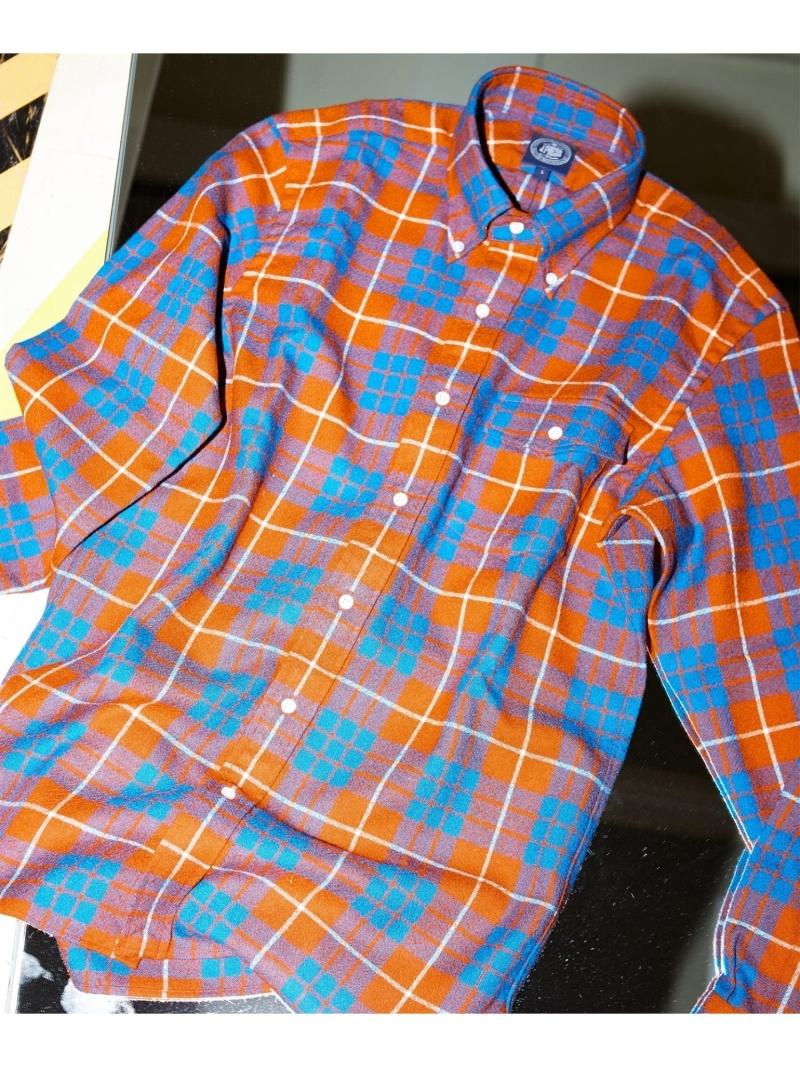 【SALE/50%OFF】J.PRESS MEN タータンチェック B.Dシャツ ジェイプレス シャツ/ブラウス【RBA_S】【RBA_E】【送料無料】