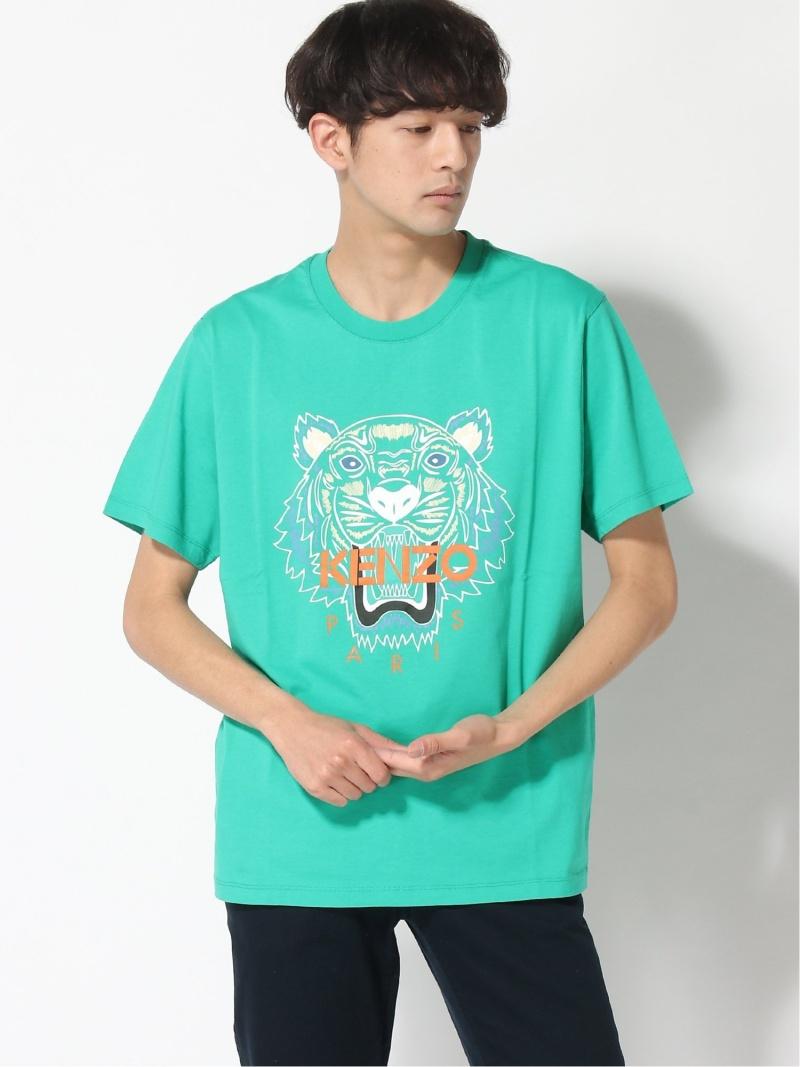 KENZO (M)SS20 Classic Tiger Tee M ケンゾー カットソー Tシャツ グリーン グレー パープル ブラック ホワイト【送料無料】