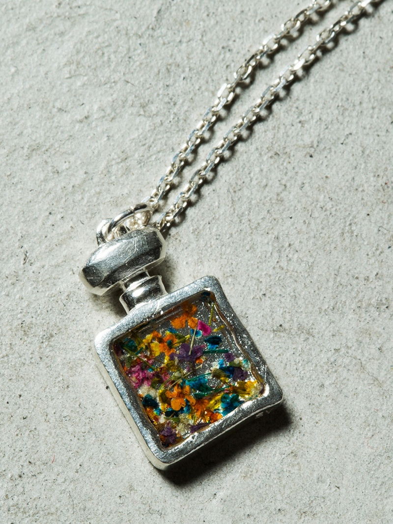 rehacer Flower perfume necklace レアセル アクセサリー【送料無料】
