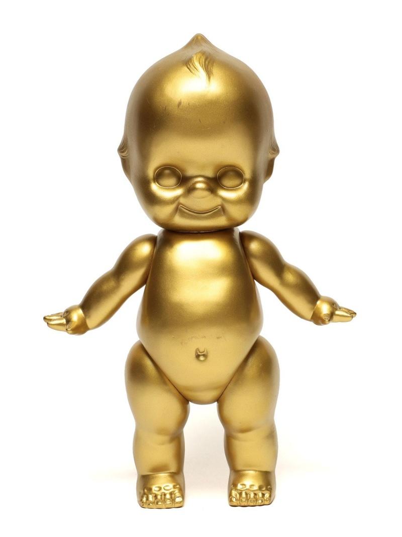 BEAMS JAPAN オビツ製作所×BEAMS JAPAN / GOLDキューピー(特大) ビームス ジャパン ビームス ジャパン 生活雑貨 インテリアアクセ ゴールド【送料無料】