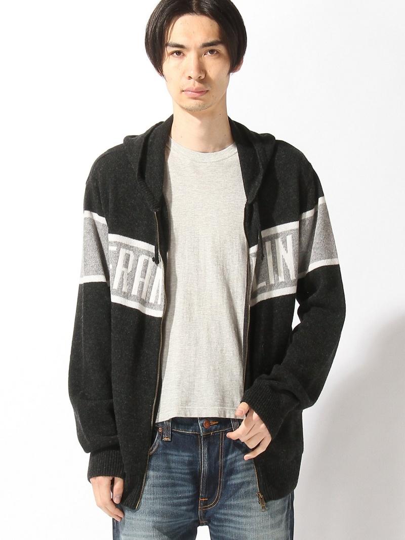 【SALE/50%OFF】nudie jeans FRANKLIN&MARSHALL/(M)ニットカーディガン ヌーディージーンズ / フランクリンアンドマーシャル ニット【RBA_S】【RBA_E】【送料無料】