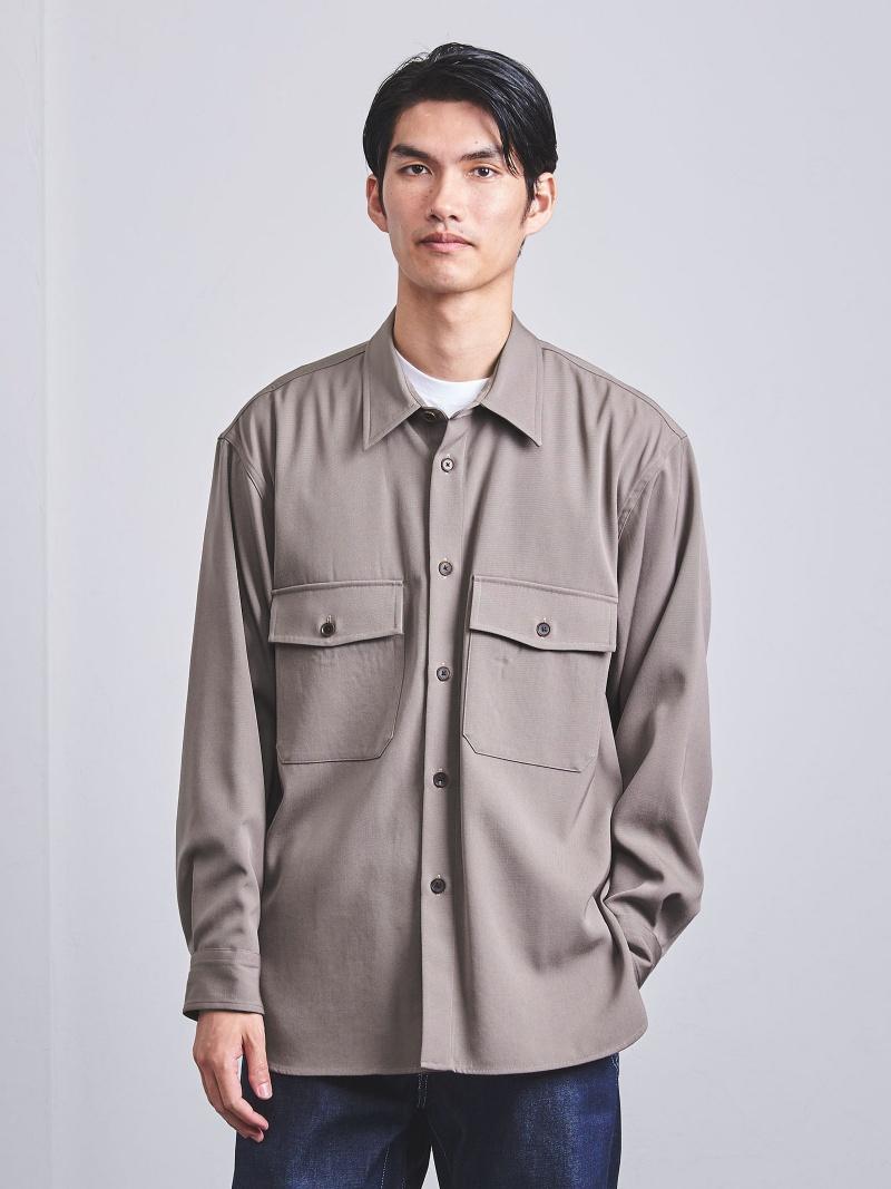 新規購入 UNITED ARROWS ARROWS <AURALEE(オーラリー)>ウールギャバシャツ? ユナイテッドアローズ カットソー Tシャツ Tシャツ ベージュ ブラック カットソー【送料無料】:Rakuten Fashion Men, エンデュランス:bbf32645 --- nagari.or.id