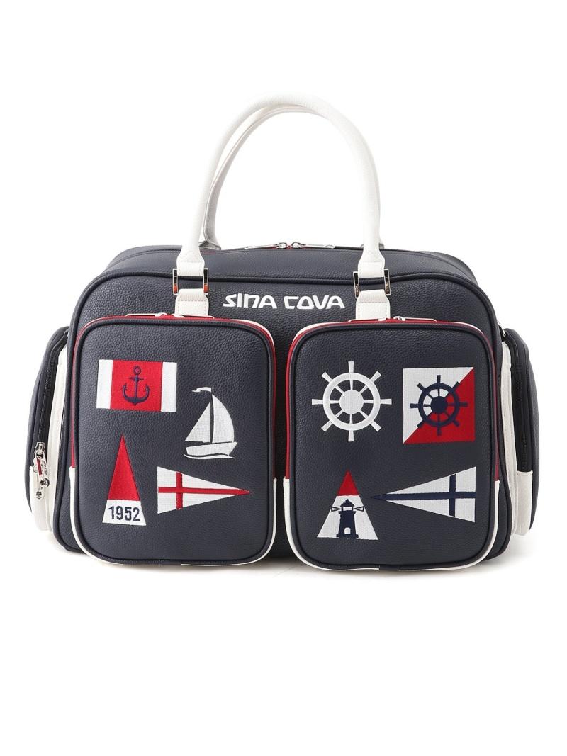 SINA 情熱セール COVA ユニセックス バッグ シナコバ ホワイト スーパーセール期間限定 U 送料無料 ボストンバッグ
