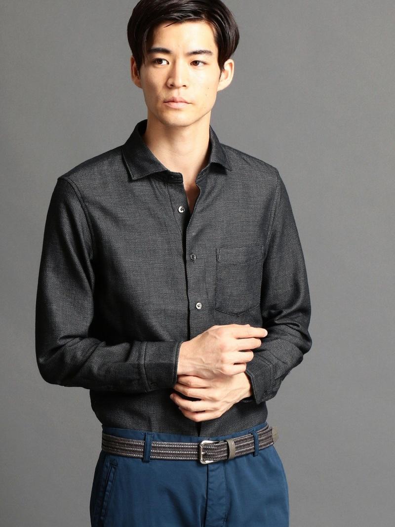 MONSIEUR NICOLE LEGGIUNO(レジウノ)セミワイドカラーシャツ ニコル シャツ/ブラウス【送料無料】