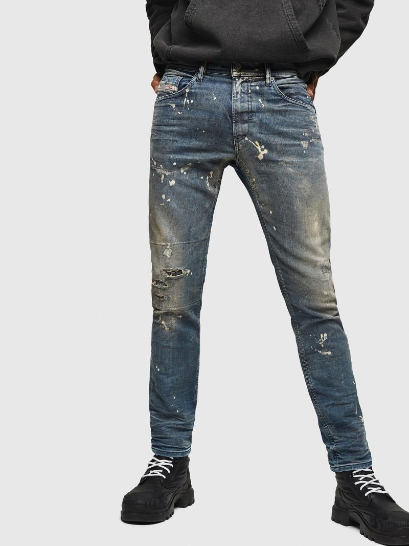 DIESEL Thommer JoggJeans 0870X ディーゼル パンツ/ジーンズ フルレングス ブルー【送料無料】