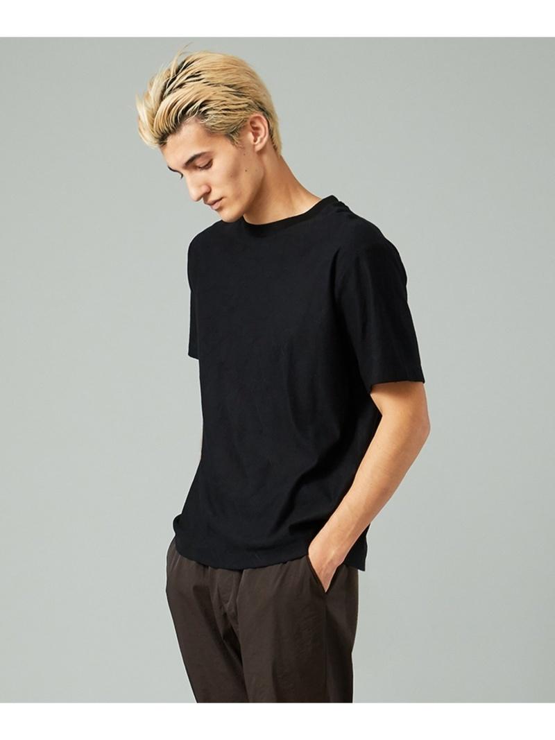 CK CALVIN KLEIN リニアタックジャガード Tシャツ CK カルバン・クライン カットソー Tシャツ ブラック ホワイト【送料無料】
