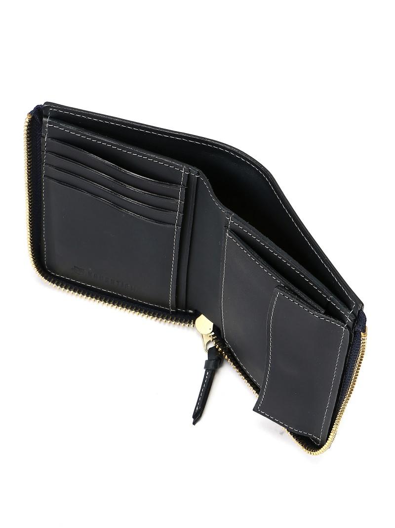 d1e2f6b227c3 NAUGHTIAM (U)リスシオレザーL字中型 58NV ノーティアム 財布/小物【送料無料】-メンズ財布