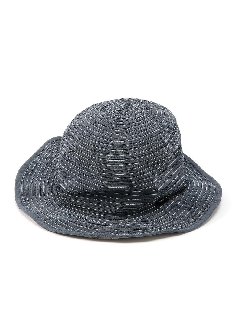 【SALE/60%OFF】MANIERA MANIERA/(M)INDIGO NYLON FREE HAT ジェネラルデザインストア 帽子/ヘア小物【RBA_S】【RBA_E】【送料無料】