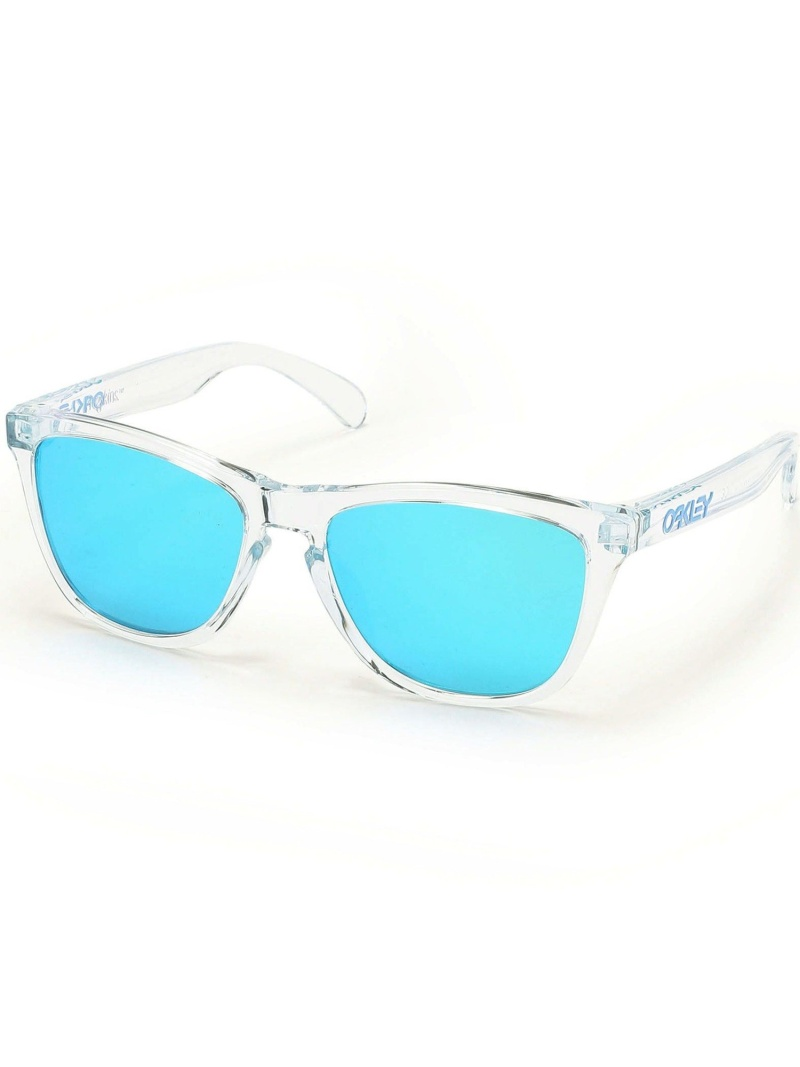 ROYAL FLASH OAKLEY/オークリー/FROGSKINSCRYSTALCOLLECTION-ASIAFIT- ロイヤルフラッシュ その他 その他 ブルー【送料無料】