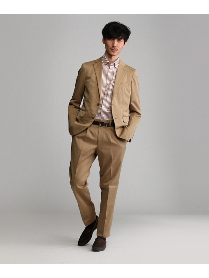 【SALE/50%OFF】TAKEO KIKUCHI サンクロスコットンシングルスーツ[メンズ スーツ ヘリンボーン] タケオキクチ カットソー【RBA_S】【RBA_E】【送料無料】