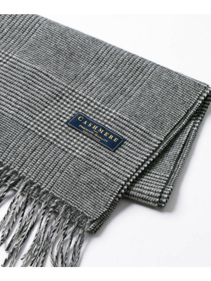URBAN RESEARCH チェックカシミヤマフラー アーバンリサーチ ファッショングッズ【送料無料】