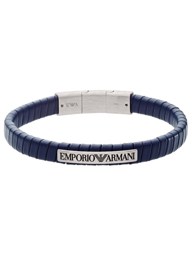 EMPORIO ARMANI BRACELET EGS2639040 ウォッチステーションインターナショナル アクセサリー ブレスレット ブルー【送料無料】