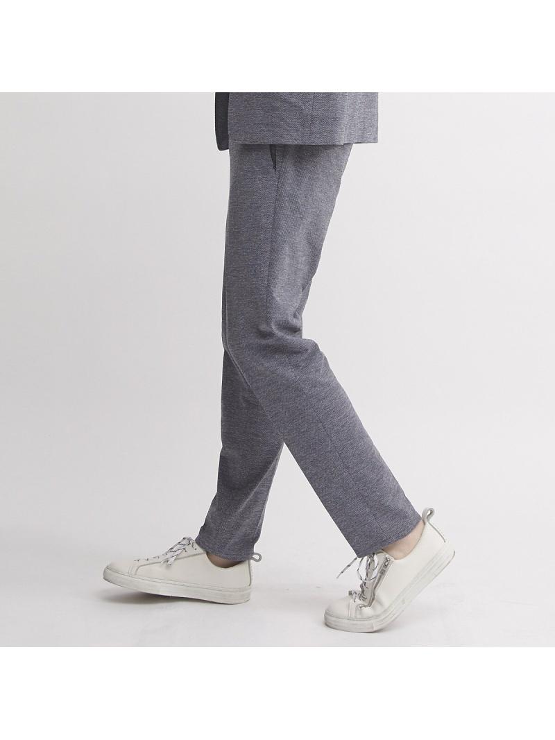 5351POUR LES HOMMES 【セットアップ対応】リランチェカノコスリムテーパードパンツ ゴーサンゴーイチプールオム パンツ/ジーンズ フルレングス ブルー ブラック【】: Fashion Men