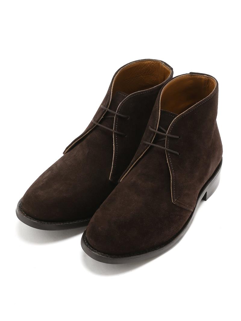 London Shoe Make ≪Oxford and Derby≫ 8019 スエードチャッカブーツ アンデックス シューズ プロダクト シューズ【送料無料】