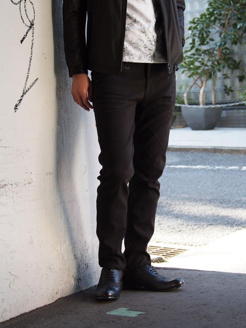 NICOLE CLUB FOR MEN ストレッチツイルパンツ ニコル パンツ/ジーンズ パンツその他 ブラック ホワイト ベージュ ブルー ネイビー【送料無料】