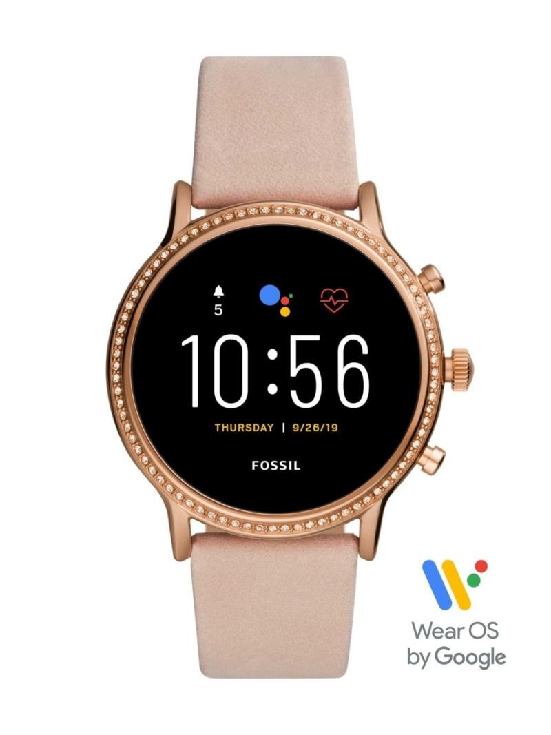 FOSSIL SMARTWATCH JULIANNA HR SMARTWATCH フォッシル ファッショングッズ 腕時計 ベージュ【送料無料】