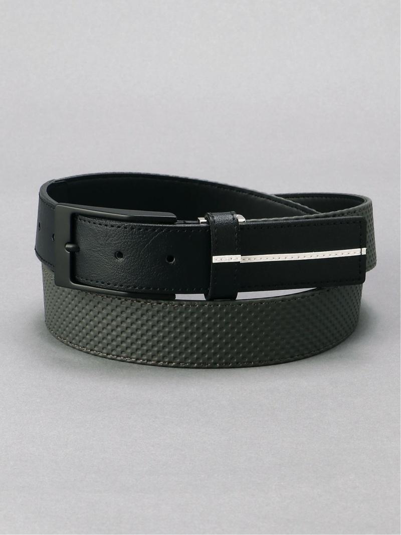 Munsingwear (M)エンボスベルト マンシングウェア ファッショングッズ ベルト グレー ホワイト【送料無料】