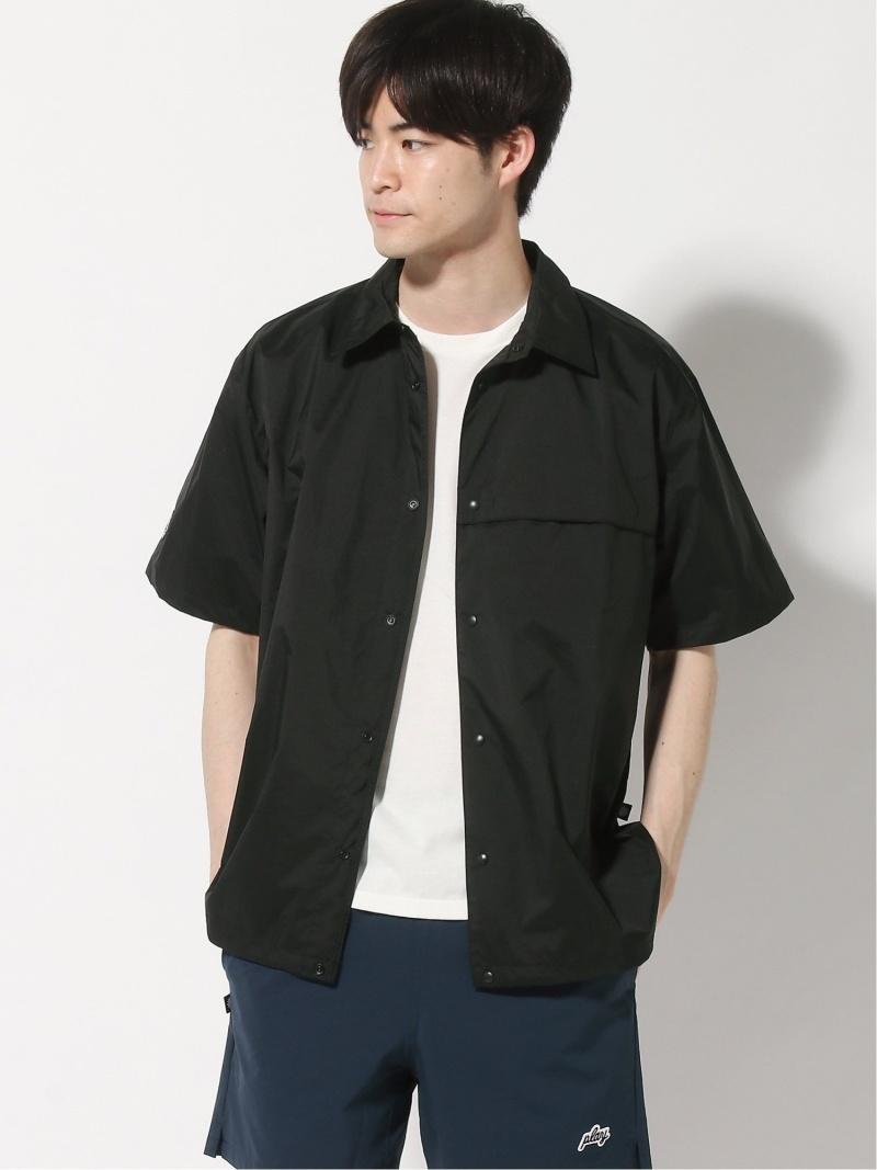 PLAYDESIGN (M)PLAYER 3L S/S SHIRT プレイデザイン シャツ/ブラウス 半袖シャツ ブラック【送料無料】