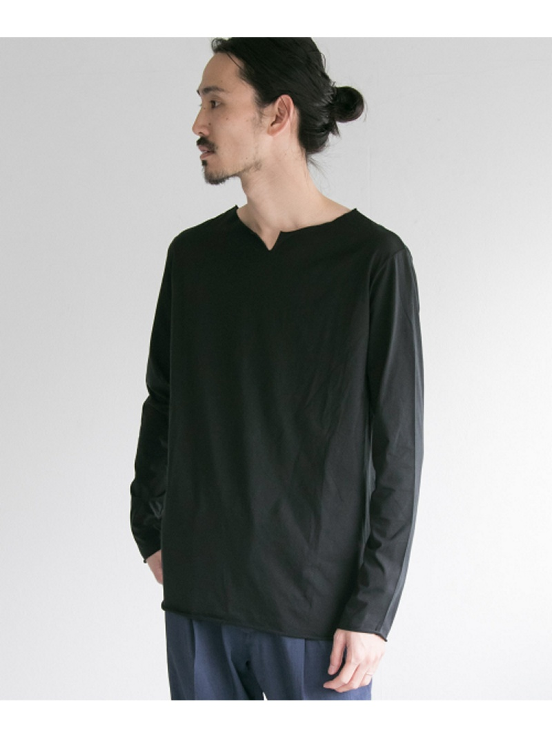 URBAN RESEARCH MYTHINKS MY CUT OFF Long Sleeve T-shirts アーバンリサーチ カットソー【送料無料】