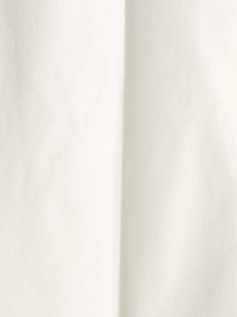 SALE 30 OFF BEAUTYYOUTH UNITED ARROWS BYホワイトノープリーツスリムパンツ ビューティ ユース ユナイテッドアローズ パンツ ジーンズ フルレングス ホワイト RBA E送料無料Ajq534RL