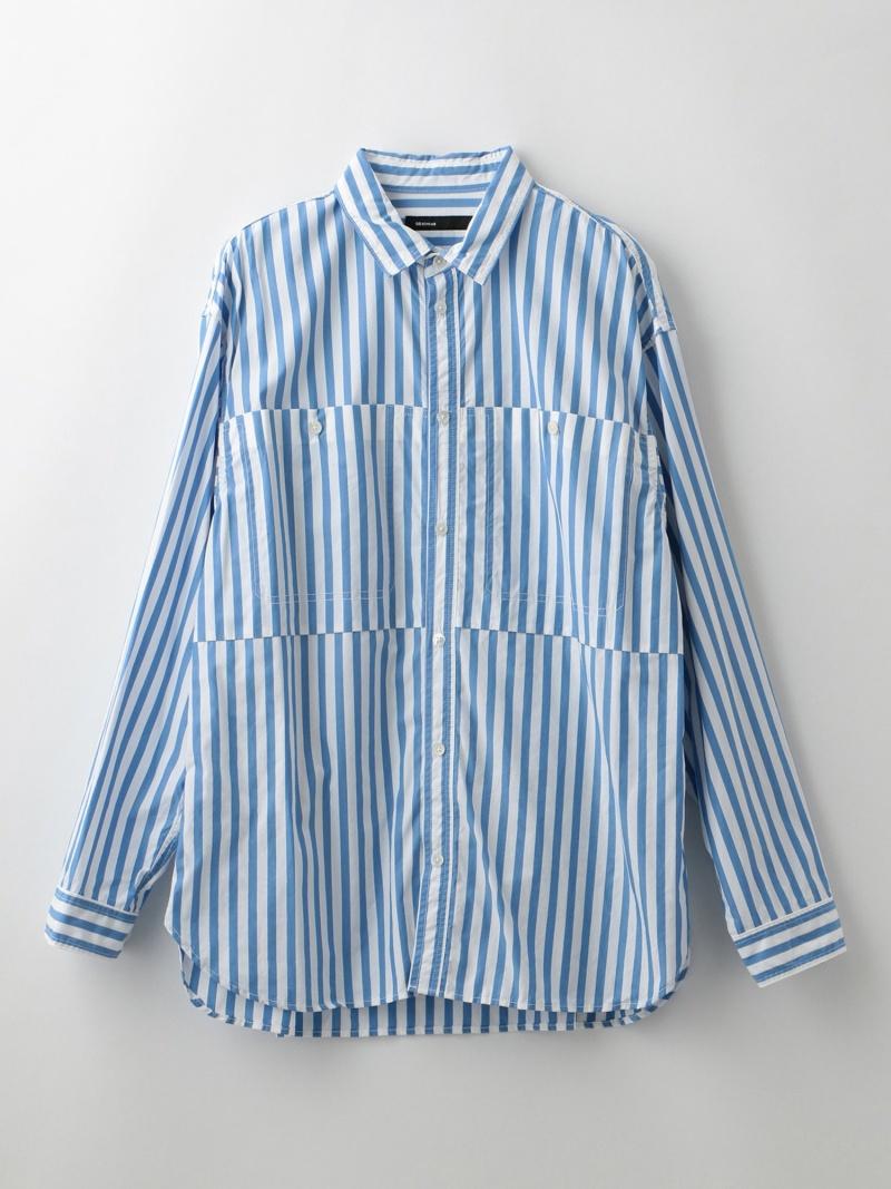 【SALE/50%OFF】LOVELESS 【08sircus】MEN コットンシャツ S19SM-SH07 ラブレス シャツ/ブラウス 長袖シャツ ブルー【RBA_E】【送料無料】