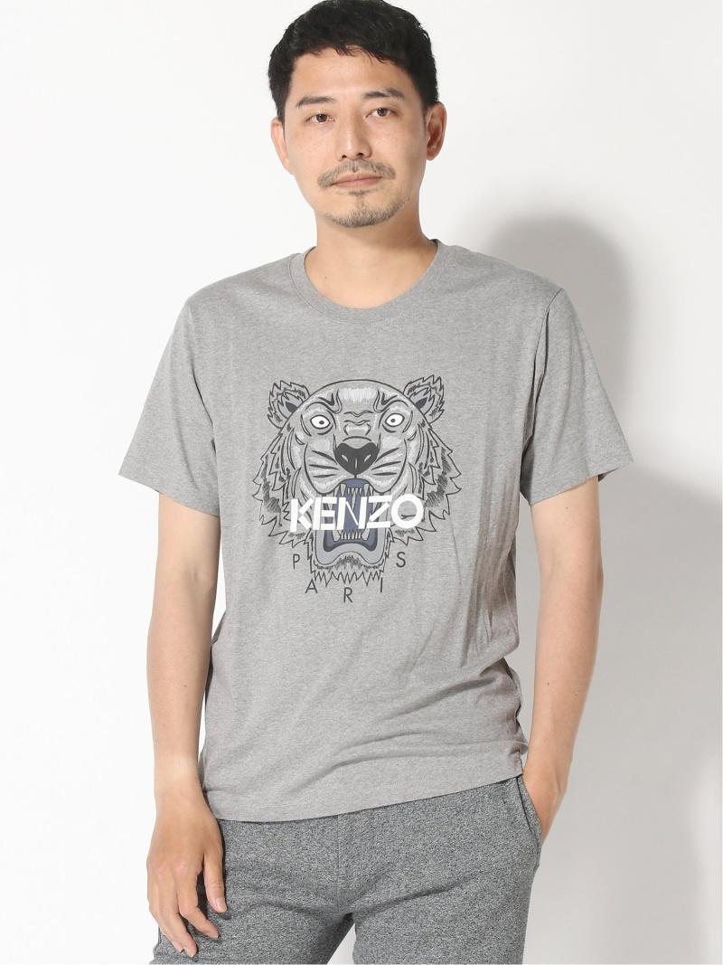 KENZO (M)Perm Classic Tiger Tee M ケンゾー カットソー Tシャツ グレー ブラック ネイビー ホワイト【送料無料】