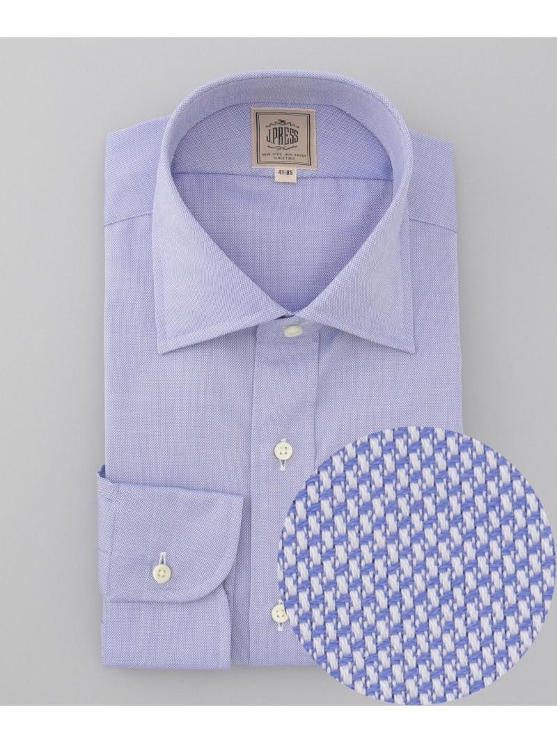 J.PRESS MEN ロイヤルオックス ワイドカラーシャツ ジェイプレス シャツ/ブラウス【送料無料】