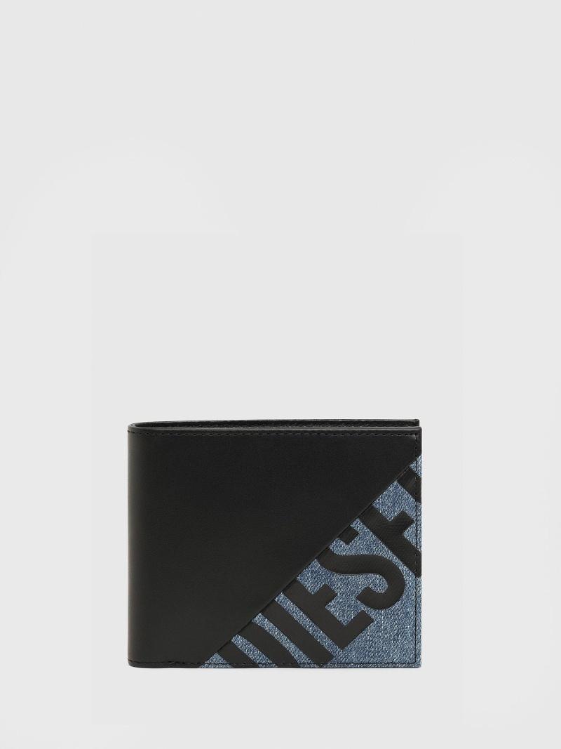 DIESEL メンズ 財布 小物 贈り物 ディーゼル SALE S 20%OFF HIRESH ブラック RBA_E 信頼 送料無料