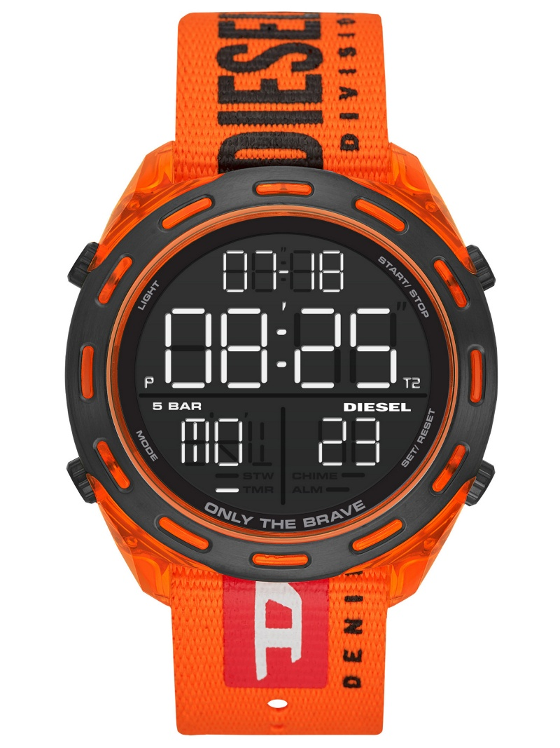 DIESEL DIESEL/(M)CRUSHER_DZ1896 ウォッチステーションインターナショナル ファッショングッズ 腕時計 ブラック【送料無料】