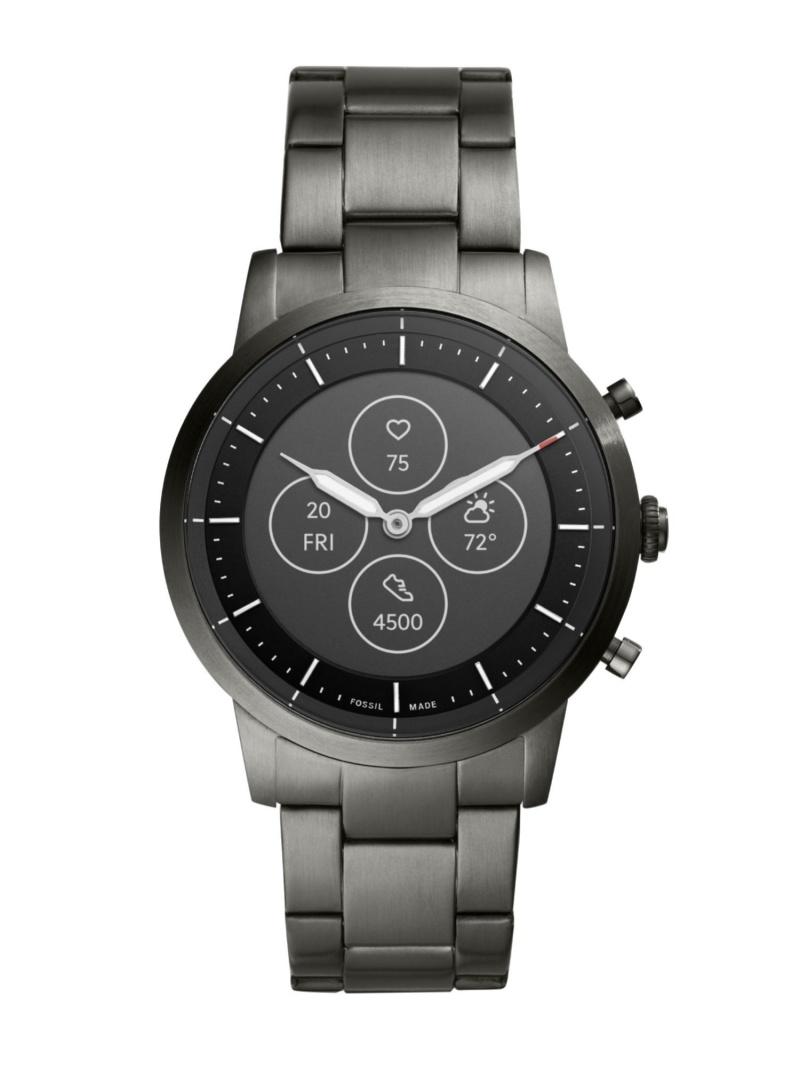 【SALE/20%OFF】FOSSIL Q COLLIDER HYBRID SMARTWATCH HR フォッシル ファッショングッズ 腕時計 グレー【RBA_E】【送料無料】