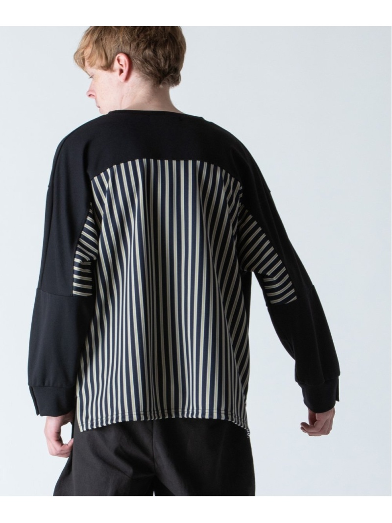 rehacer Joint Cover Cutsew レアセル カットソー カットソーその他 ブラック グレー【先行予約】*【送料無料】