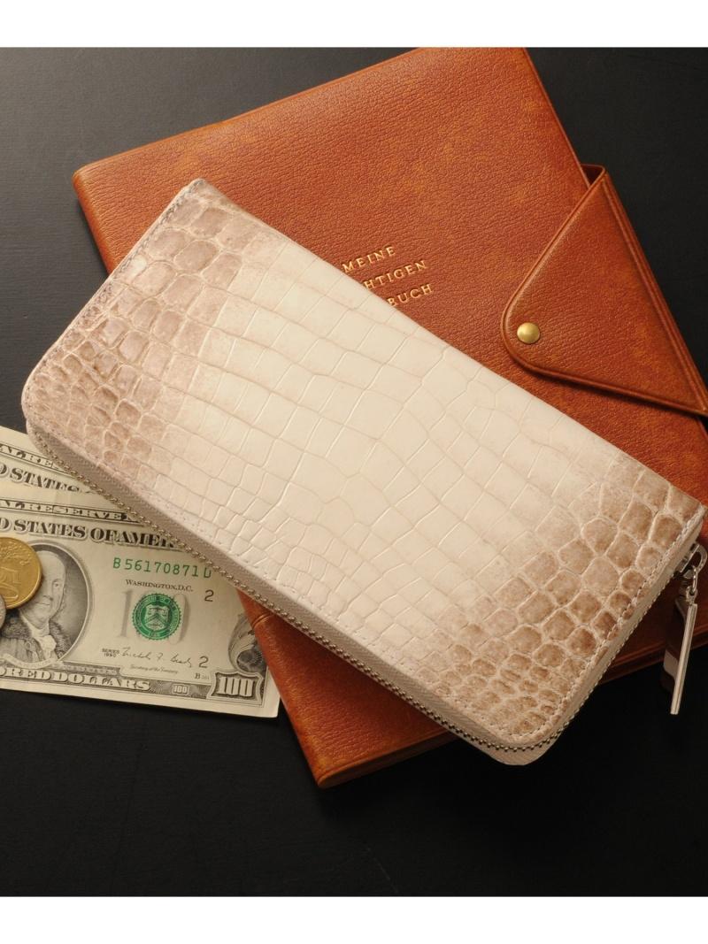 sankyoshokai 本物のヒマラヤクロコダイルレザー長財布日本製本革 サンキョウショウカイ 財布/小物 財布【送料無料】