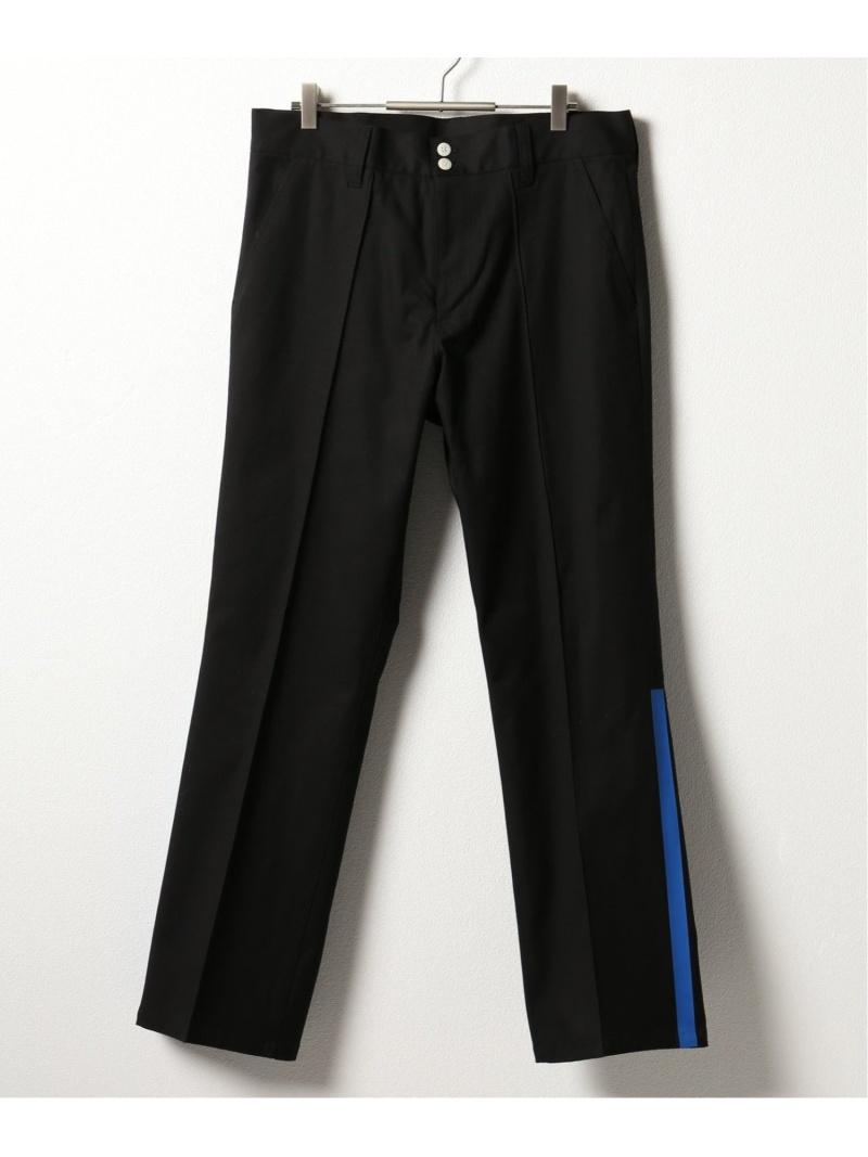 【SALE/40%OFF】NOMA t.d. NOMA Side Line Trousers ジャーナル スタンダード レリューム パンツ/ジーンズ フルレングス ブラック グレー【RBA_E】【送料無料】