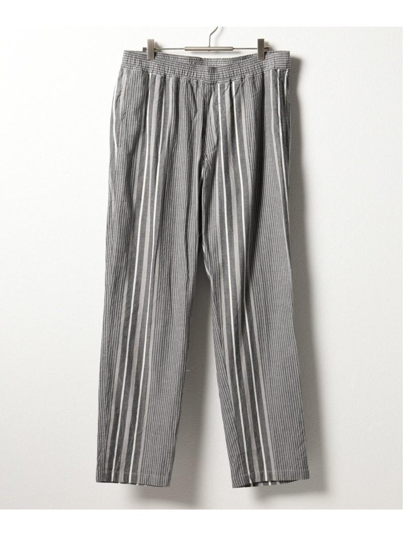 NOMA t.d. NOMA N Stripe Trousers ジャーナル スタンダード レリューム パンツ/ジーンズ フルレングス グレー ブラウン【送料無料】