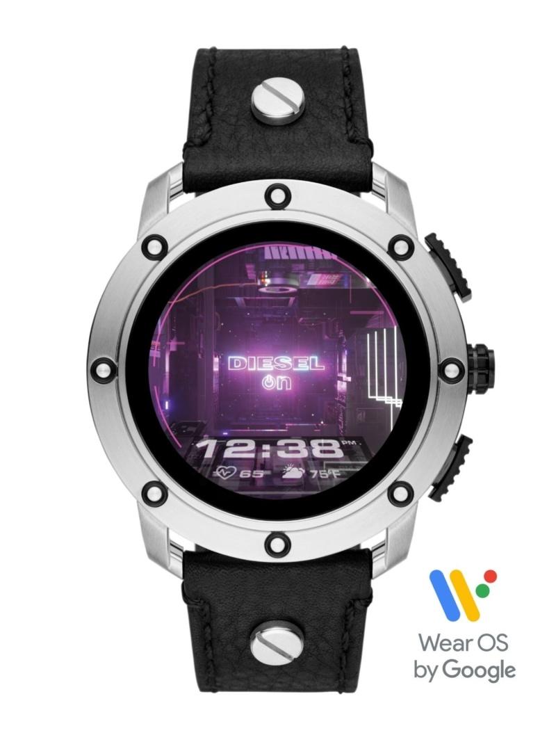 DIESEL ON 【タッチスクリーンスマートウォッチ】AXIAL ウォッチステーションインターナショナル ファッショングッズ 腕時計 ブラック【送料無料】