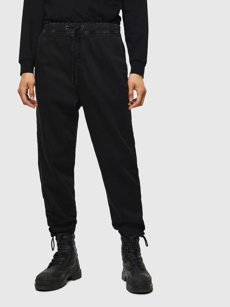 DIESEL D-TollerJoggJeans0687Z ディーゼル パンツ/ジーンズ フルレングス ブラック【送料無料】