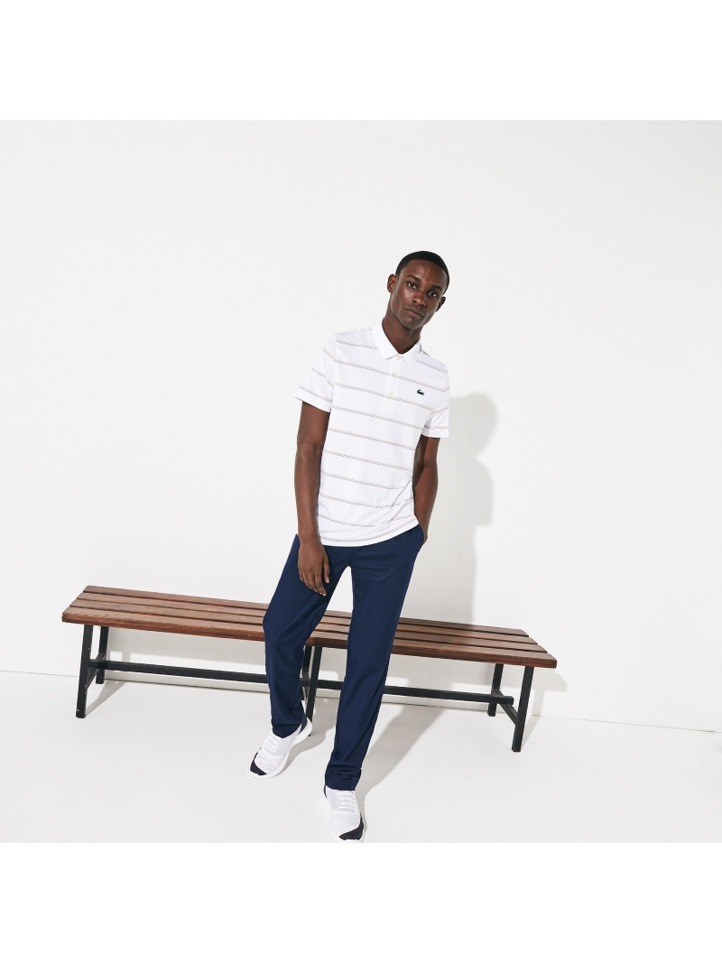 LACOSTE 『PRESIDENTSCUP』トリプルカラーピンボーダーポロ LACOSTE ラコステ ラコステ カットソー【送料無料】, 地球問屋:1d393519 --- officewill.xsrv.jp