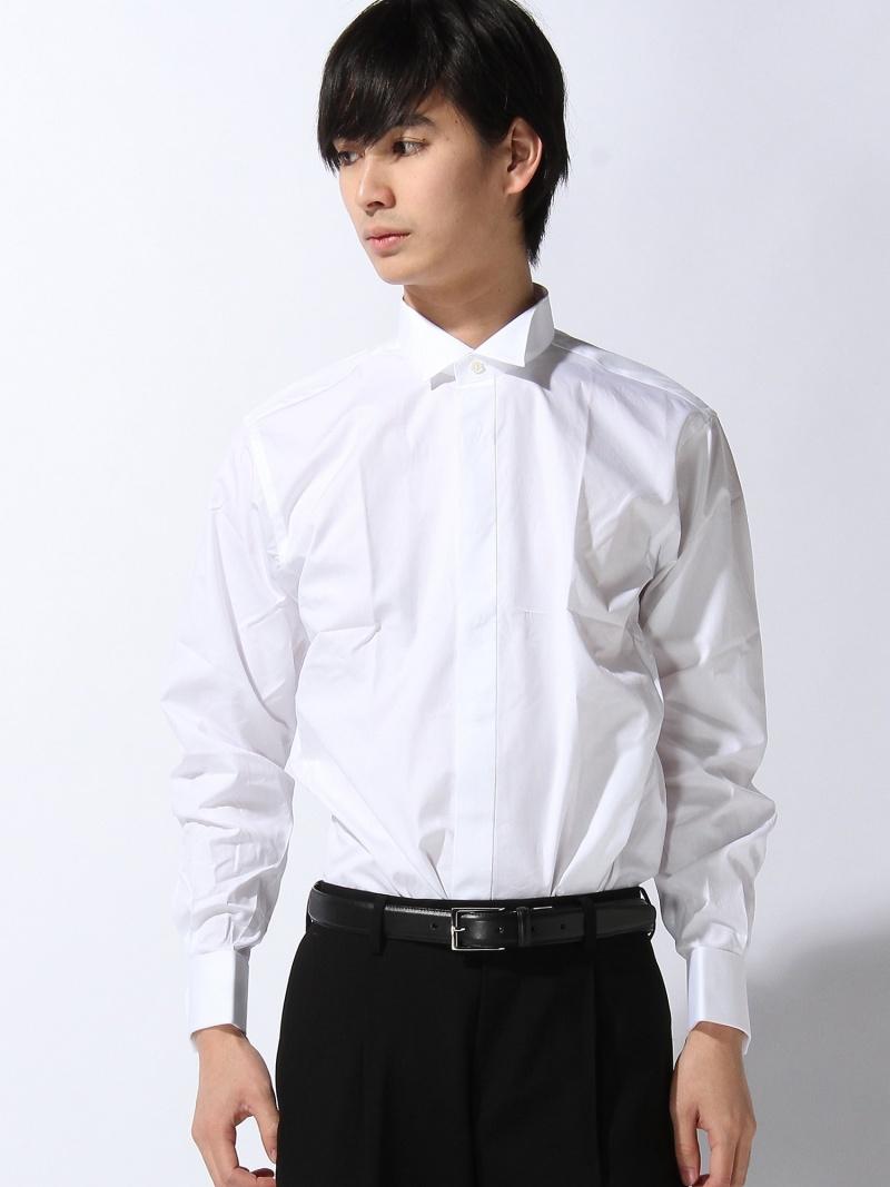 SOCIAL SOCIAL/(M)シャツ カインドウェア シャツ/ブラウス 長袖シャツ ホワイト【送料無料】